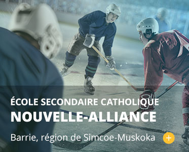École secondaire catholique Nouvelle-Alliance. barrie, région de Simcoe-Muskoka