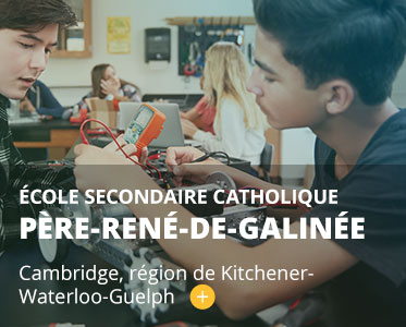École secondaire catholique Père-René-de-Galinée. Cambridge, région de Kitchener-Waterloo-Guelph