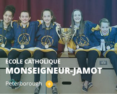 École catholique Monseigneur-Jamot. Peterborough