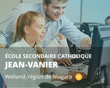 École secondaire catholique Jean-Vanier. Welland, région de Niagara