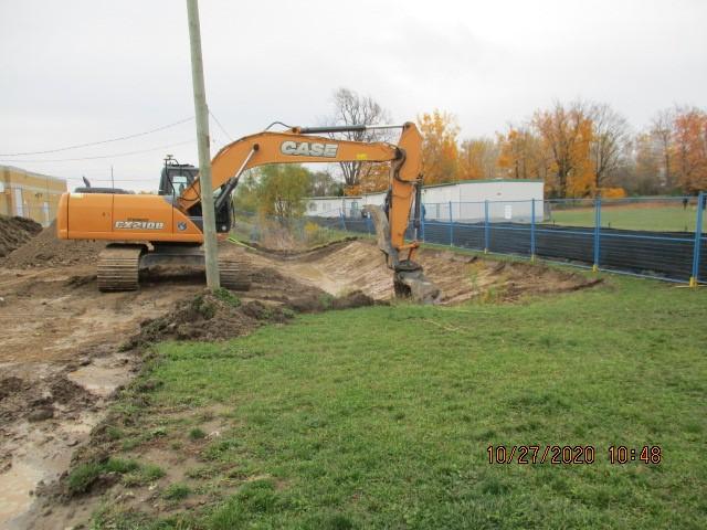 machine pour creuser