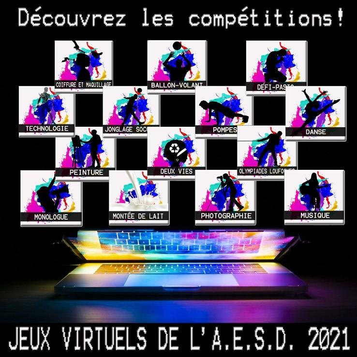 compétition virtuelle aesd