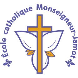 Logo de l'école catholique Monseigneur-Jamot